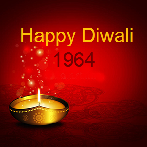 Diwali Wishes 1964