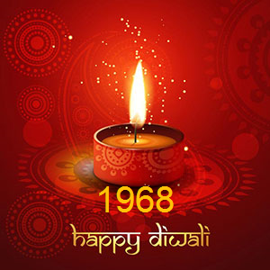 Diwali Wishes 1968